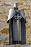 詹姆士一世雕象征服者,阿瑞斯del Maestrazgo,西班牙 免版税库存图片