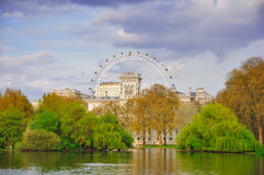 詹姆斯・伦敦公园s st 免版税库存照片