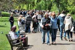 詹姆斯・伦敦公园s st 图库摄影