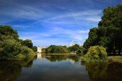 詹姆斯・伦敦公园st 图库摄影