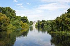 詹姆斯・伦敦公园st 库存照片