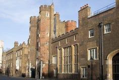 詹姆斯・伦敦宫殿st 库存照片