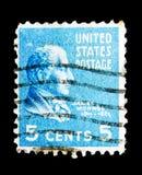 詹姆斯・门罗(1758-1831), U的第五位总统 S A 主持 库存照片