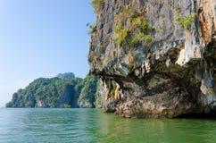 詹姆斯庞德海岛在Phang Nga,泰国 免版税库存图片