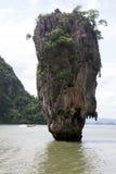 詹姆斯庞德海岛普吉岛泰国 库存图片