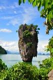 詹姆斯庞德海岛普吉岛,泰国 免版税库存照片