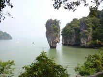 詹姆斯庞德海岛,泰国 库存照片