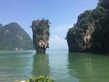 詹姆斯庞德海岛Phang Nga 免版税库存图片
