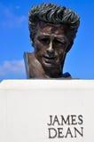 詹姆斯教务长雕象 图库摄影