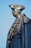 詹姆斯沃尔夫Statue,格林威治将军 免版税库存照片