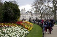 詹姆斯・伦敦公园st 免版税库存照片