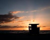 警卫塔, Cottonera马耳他 库存图片