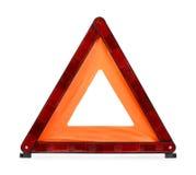 警告三角 图库摄影