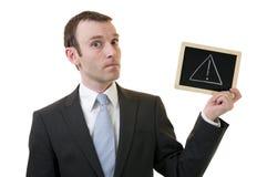 警告 免版税库存图片