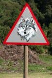 警告 图库摄影