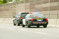 警察停止 免版税库存图片