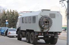 警察卡车(囚犯运输车) 免版税库存照片