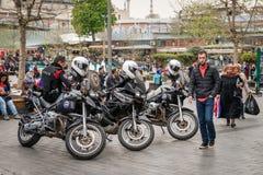 警察在伊斯坦布尔,土耳其 图库摄影