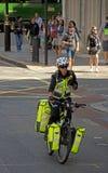 警察在伦敦 库存图片