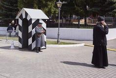警察在Kolomna 库存照片