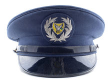 警察塞浦路斯 库存图片