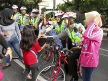 警察妇女 免版税图库摄影
