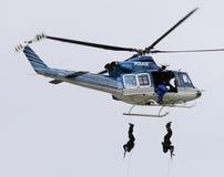 警察小队 免版税库存照片