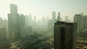 警察局大厦空中风景  股票录像