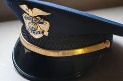 警察局长帽子 库存照片