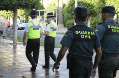 警察巡逻026 免版税库存照片