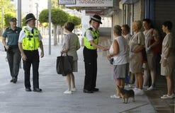 警察巡逻029 库存图片