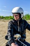 警察摩托车 库存照片