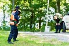 警察教育 免版税库存照片