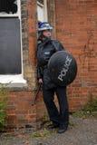 警察暴乱 免版税图库摄影