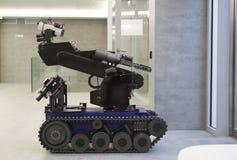 警察机器人 库存图片