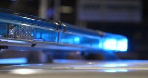 警察检查尽管信号灯 股票视频