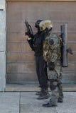 警察特种部队训练  图库摄影