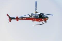 警察用直升机 图库摄影