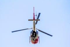 警察用直升机 库存照片