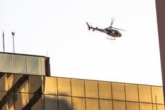警察用直升机 库存图片