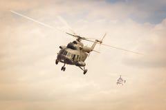 警察用直升机Mi2 库存照片