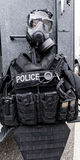 警察装甲 免版税库存照片