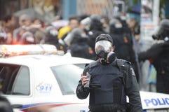 警察记录。 免版税图库摄影