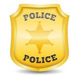 警察证章 向量例证
