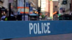 警察障碍 股票视频