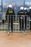 警察预防部门任命当班军官(波兰) 免版税图库摄影
