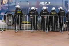 警察预防部门(波兰)的官员 库存图片