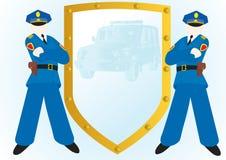 警察 向量例证