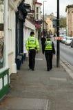警察- Malton - Ryedale -北部Yortkshire -英国 免版税库存图片