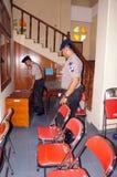 警察bom小队 免版税库存照片